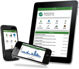 SmartHub Online Payments and Account Management is Mobile Friendly